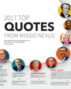 2017 Top Quotes from Missio Nexus