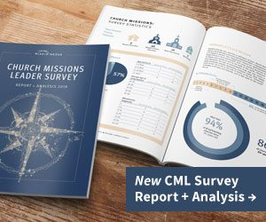 Purchase the Church Missions Leader Survey Report + Analysis 2019