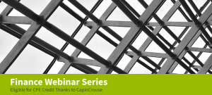 Finance Webinar Series: Navigating the Shifting Sands of the PPP Loan Forgiveness Application