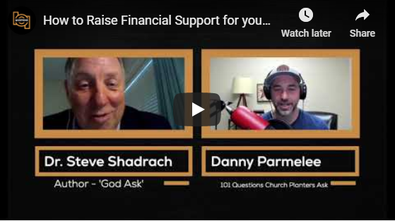 How to Raise Financial Support for your Church Plant