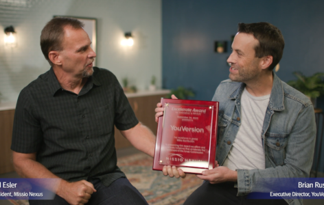 Excelerate Award Presented to YouVersion