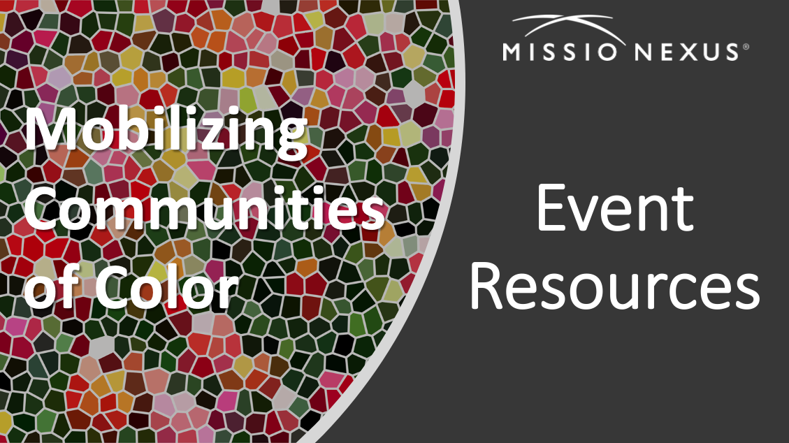 Mobilizing Communities of Color - Event Resources