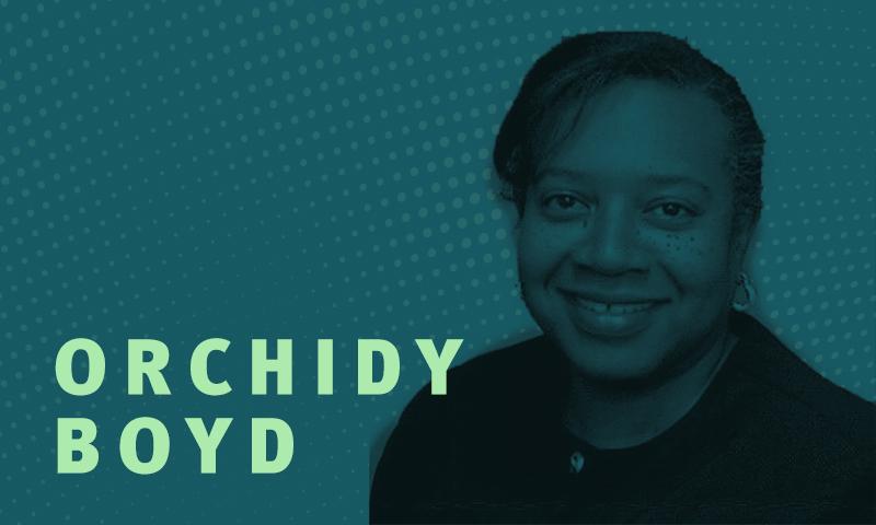Day 27 – Orchidy Boyd