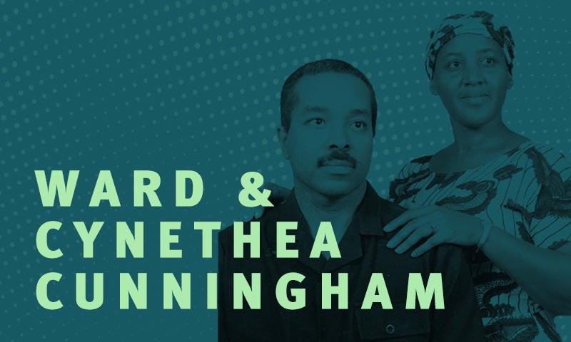 Day 16 – Ward and Cynethea Cunningham